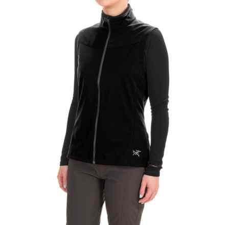 Arc'teryx Trino Windstopper® Vest (For Women) in Black - Closeouts