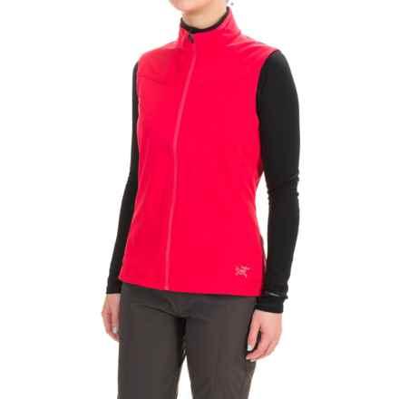 Arc'teryx Trino Windstopper® Vest (For Women) in Pink Tulip - Closeouts