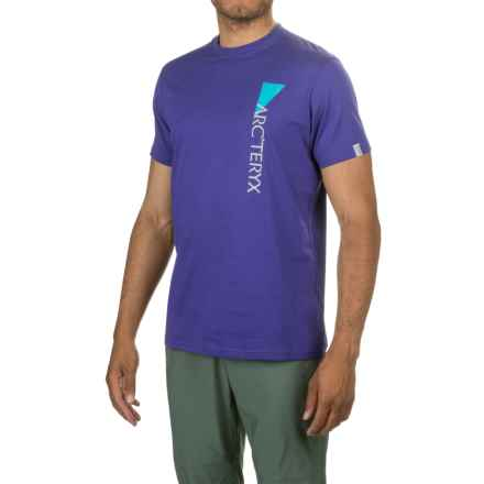 Arc'teryx Upright T-Shirt - Short Sleeve (For Men) in Sodalite - Closeouts