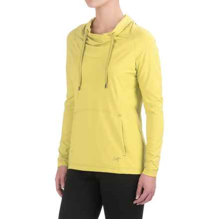 Arc'teryx Varana Shirt - Cowl Neck, Long Sleeve (For Women) in Primrose - Closeouts