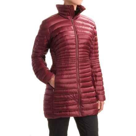 Arc'teryx Yola Down Parka - 750 Fill Power (For Women) in Zinfandel - Closeouts
