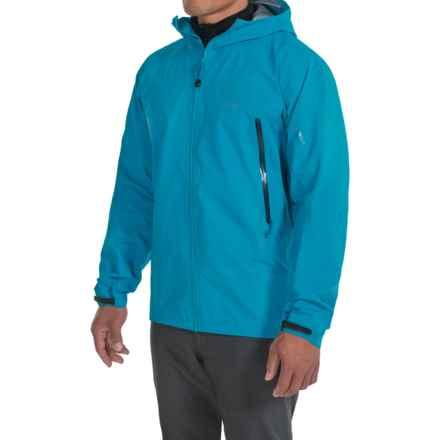 Arc'teryx Zeta AR Gore-Tex® Hooded Jacket - Waterproof (For Men) in Adriatic Blue - Closeouts