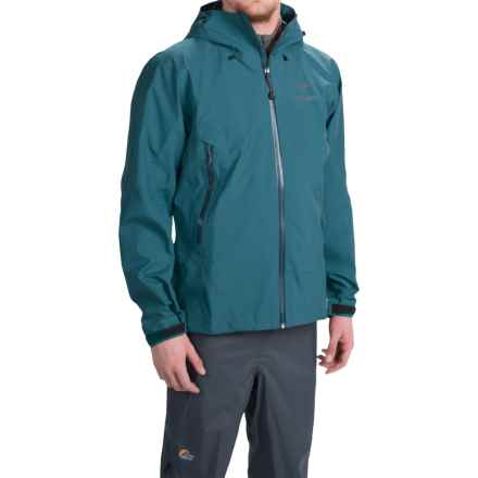 Arc'teryx Zeta AR Gore-Tex® Hooded Jacket - Waterproof (For Men) in Legion Blue - Closeouts