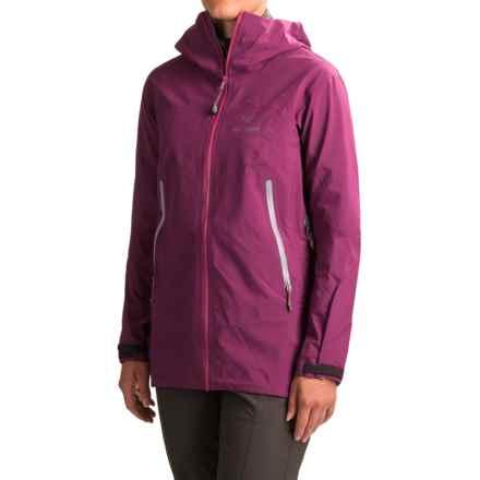 Arc'teryx Zeta AR Gore-Tex® Hooded Jacket - Waterproof (For Women) in Light Chandra - Closeouts