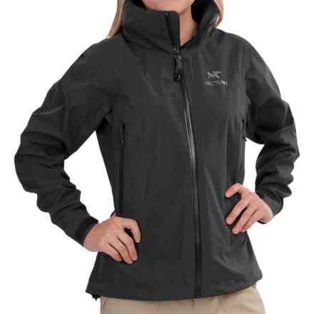 Arc'teryx Zeta AR Gore-Tex® Jacket - Waterproof (For Women) in Black - Closeouts