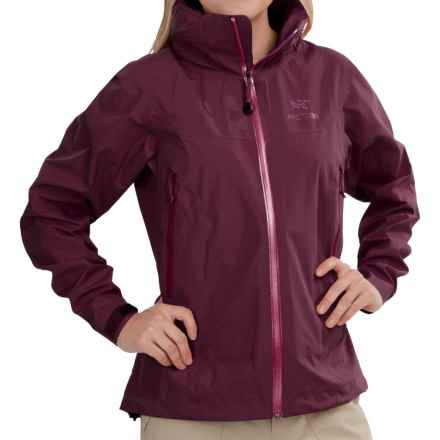 Arc'teryx Zeta AR Gore-Tex® Jacket - Waterproof (For Women) in Cherrywine - Closeouts