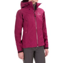 Arc'teryx Zeta AR Gore-Tex® Jacket - Waterproof (For Women) in Roseberry - Closeouts