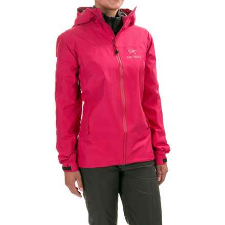 Arc'teryx Zeta LT Gore-Tex® Jacket - Waterproof (For Women) in Vanda Orchid - Closeouts