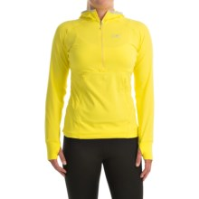 Arc'teryx Zoa Hoodie - Zip Neck (For Women) in Lemon Zest - Closeouts