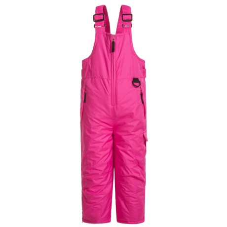 Arctic Quest Snow Bibs - Insulated (For Toddlers) in Pink