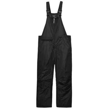 Arctic Quest Taslan Bib Ski Pants - Insulated (For Big Girls) in Black - Closeouts