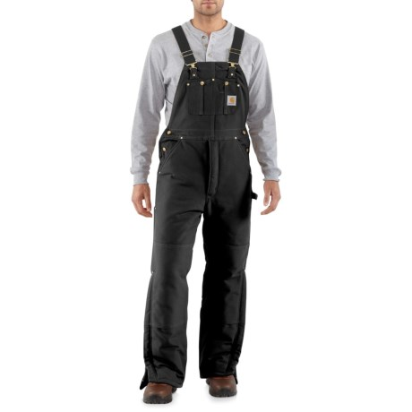 Image of Arctic Quilt-Lined Duck Bib Overalls - Factory Seconds (For Men)