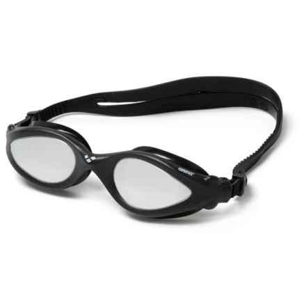 Arena Imax Pro Mirror Swim Goggles in Black/Silver/White - Closeouts