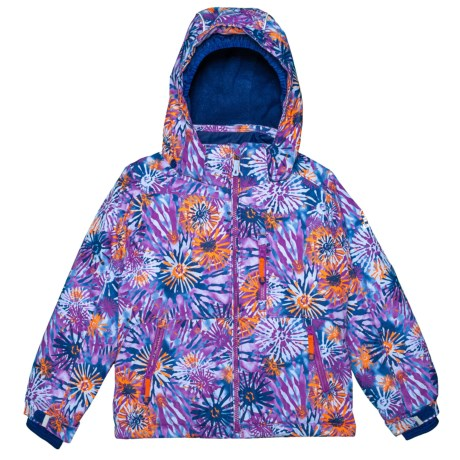 Image of Aria Flower Burst Ski Jacket - Insulated (For Big Girls)
