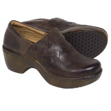 Ariat Ashbourne Clogs - Leather (For Women) in Briar Brown - Closeouts