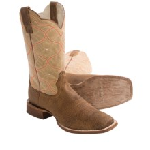 Ariat Big City Cowboy Boots (For Men) in Tan Oil Gaucho - Closeouts