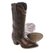 "Ariat Bluebell Cowboy Boots - 12"", Almond Toe (For Women) in Brushed Brown - Closeouts"