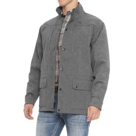 Ariat Bozeman Soft Shell Jacket (For Men) in Charcoal Grey - Overstock