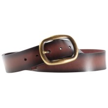 Ariat Brenda Belt - Burnished Leather (For Women) in Burnished Brown - Closeouts