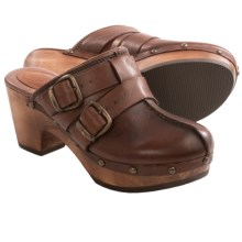 Ariat Bridlespur Clogs - Leather (For Women) in Sequoia Bark - 2nds