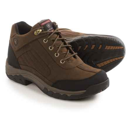 Ariat Camrose H20 Thinsulate® Work Boots - Waterproof, Insulated, Leather (For Women) in Distressed Brown - Closeouts