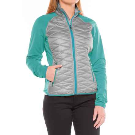 Ariat Cloud 9 Quilted Jacket (For Women) in Heather Gray - Closeouts