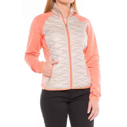 Ariat Cloud 9 Quilted Jacket (For Women) in Oatmeal - Closeouts