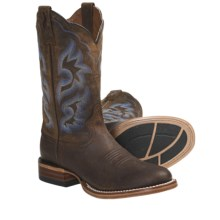 Ariat Cyclone Cowboy Boots - Leather, W-Toe (For Men) in Weathered Brown - Closeouts