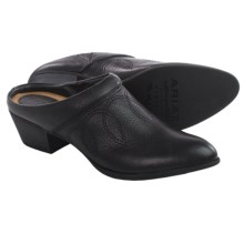 Ariat Dalton Clogs - Leather, Open Back (For Women) in Black Deertan - Closeouts