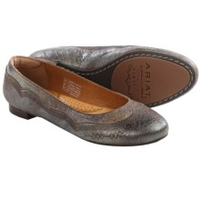 Ariat Dreamer Leather Flats (For Women) in Riverstone - Closeouts
