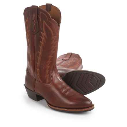 "Ariat Drifter Cowboy Boots - 13"", R-Toe (For Men) in Cedar - Closeouts"