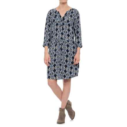 Ariat Dyna Dress - 3/4 Sleeve (For Women) in Multi - Closeouts