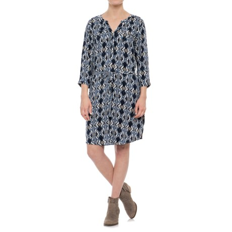 Ariat Dyna Dress - 3/4 Sleeve (For Women) in Multi