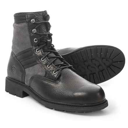 Ariat Easy Street Boots - Leather (For Men) in Graphite - Closeouts