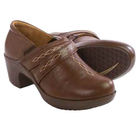 Ariat Ellie Leather Clogs (For Women) in Chocolate - Closeouts