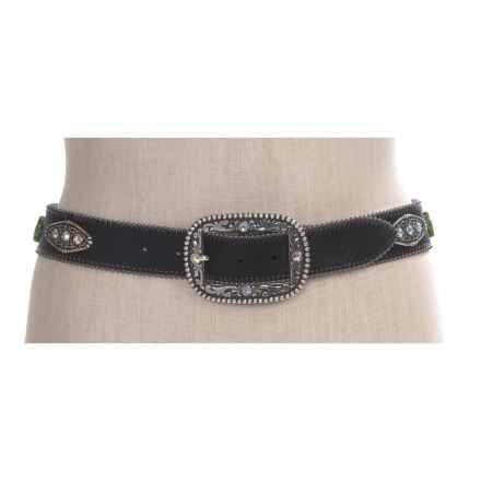 Ariat Envy Belt - Leather (For Women) in Black - Closeouts
