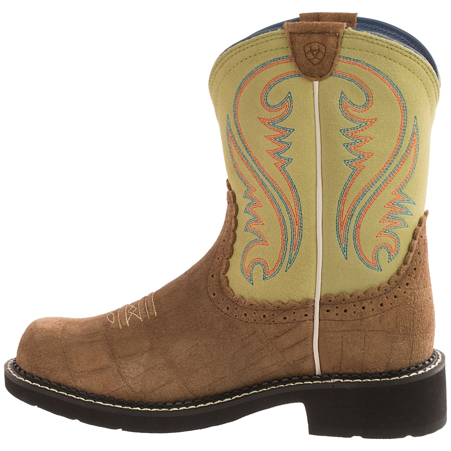 Ariat Fat Baby Heritage Cowboy Boots For Women Save