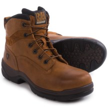 "Ariat FlexPro 6"" Work Boots - Composite Toe (For Men) in Desert Brown - Closeouts"