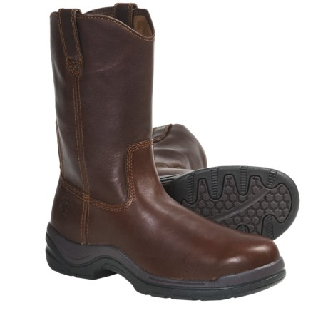 Ariat FlexPro Boots - Round Toe, Pull-Ons (For Men) in Russet Brown