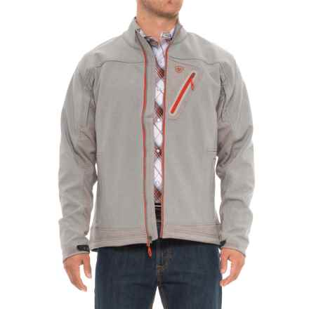 Ariat Forge Soft Shell Jacket (For Men) in Heather Gray - Overstock