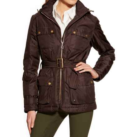 Ariat Furlough Jacket - Waterproof, Insulated (For Women) in Ganache - Overstock