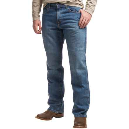 Ariat Heritage Jeans - Straight Leg (For Men) in Medium Stone - Closeouts