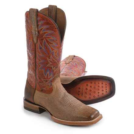 "Ariat High Call Cowboy Boots - 13"", Square Toe (For Men) in Quicksand - Closeouts"