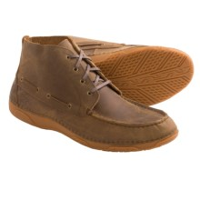 Ariat Holbrook Leather Chukka Boots - Lace-Ups (For Little and Big Kids) in Powder Brown - Closeouts