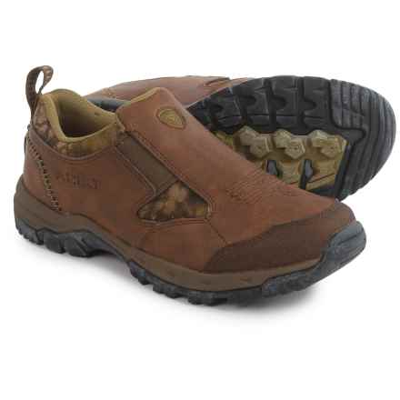 Ariat Kelso Slip-On Shoes - Suede (For Men) in Bark/Kryptek Highlander - Closeouts