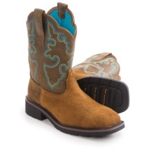 Ariat Krista II Western Work Boots - Steel Toe (For Women) in Sandy Brown - Closeouts