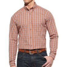 Ariat Laughlin Plaid High-Performance Shirt - Long Sleeve (For Men) in Sunset - Closeouts
