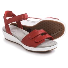Ariat Leisure Time Sandals - Leather (For Women) in Chili Red - Closeouts