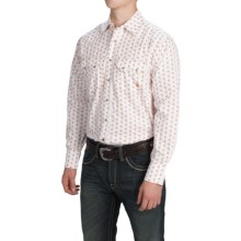 Ariat Leo Retro Fit Western Shirt - Snap Front, Long Sleeve (For Men) in Krishna - Closeouts
