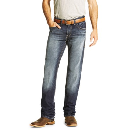 Ariat M2 Relaxed Straightedge Jeans - Low Rise, Bootcut (For Men) in Cadet